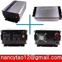 1500W DC to AC Power Inverter 12V to 220V, Car Inverter, Modified Sine Wave Power Inverter Peak Power 3000W