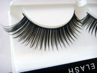 New Handmade False Eyelashes Quality Lash Natural Eyelash Beauty Makeup Tools W002 Free Shipping