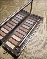30pcs a lot 2014 brand new Nake 12 colors Makeup NK3 Eye shadow eyeshadow 2 palette beautiful make eyeshow