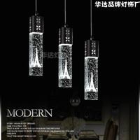 Modern led crystal fashion brief bubble pendant light kitchen lamp bedroom lamp living room lamps bar lighting