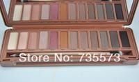 1pcs/lot New 12 Naked colors Nake 12 Pigment Rich colors Makeup NK3 Eye shadow NAKE 3 eyeshadow palette Free Shipping