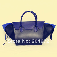 New free shipping best quality genuine leather tie bag brand women bag