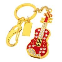 Wholesale Enough Crystal Black Guitar Violin 4GB 8GB 16GB 32GB 64GB 128GB USB 2.0 Flash Memory Stick Drive Thumb/Car/Pen