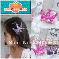 Newest Design Style Fashionable Handmade Sequins Hair Accessories Hair Clips For hair Cute Girls Hairpins PJ-176