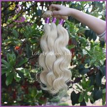 popular white weave hair