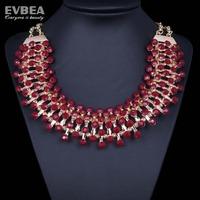 acrylic statement bib necklaces choker chunky crystal necklace women choker statement resin necklace new arrive choker women