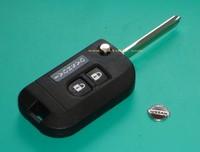 Flip Remote Key Shell Case Modify For Nissan K12 Note Navara Qashqai Micra 2BT