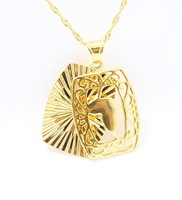 New Arriva Hollow out design 18K Gold Plated Pendants Necklace jewelry
