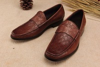 Zapatos New arrival 2014 luxury brand shoes men formal dress leather shoes sneakers Italian style business men flats