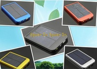 2600 MAH solar panel portable Mobile solar battery Charger Universal Solar sell Power bank for Smart Phone / IPOD and Ipad