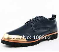 2014 Popular SOFT Leather Men Shoes British Style classic Bullock Comfortable Men Oxfords Casual Driving Mocassins Shoes for Men