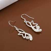 Free Shipping Wholesale 925 Sterling Silver Earring,925 Silver Fashion Jewelry,New Style Earrings SMTE481