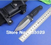 2014 NEW Bear Ultimate Survival Knife full Fixed Blade With Sheath & Fire Starter Handguards HKFree Shipping