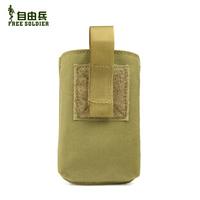 Edc tactical multifunctional mobile phone bag waist pack service digital camera bag cordura
