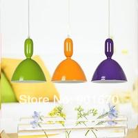 Free shipping Multi colour pendant light pendant lights living room dining lamps corridor aluminum pendant lighting 3pcs/lot