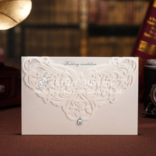 laser cutting invitation card promotion