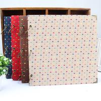loose-leaf photo album diy handmade paste type photo album book corner posts