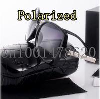 2014 new fashion sunglasses yurt cortex polarizer driving big box 9110 brand designer polarized sunglasses for women