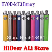 Multi Colors EVOD Battery 650mah 900mah 1100mah Suit for EVOD MT3 E Cigarette Electronic Cigarette