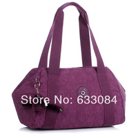 Free shipping KIP Women's handbag large capacity messenger bag one shoulder sports gym bag travel bag monkey bag KPL handbag