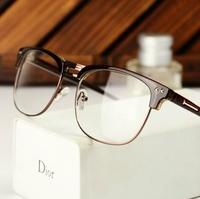 Free shipping! 2014 Most popular eyeglasses Men/Women eyewear Fashion eye glasses High Quality have lens