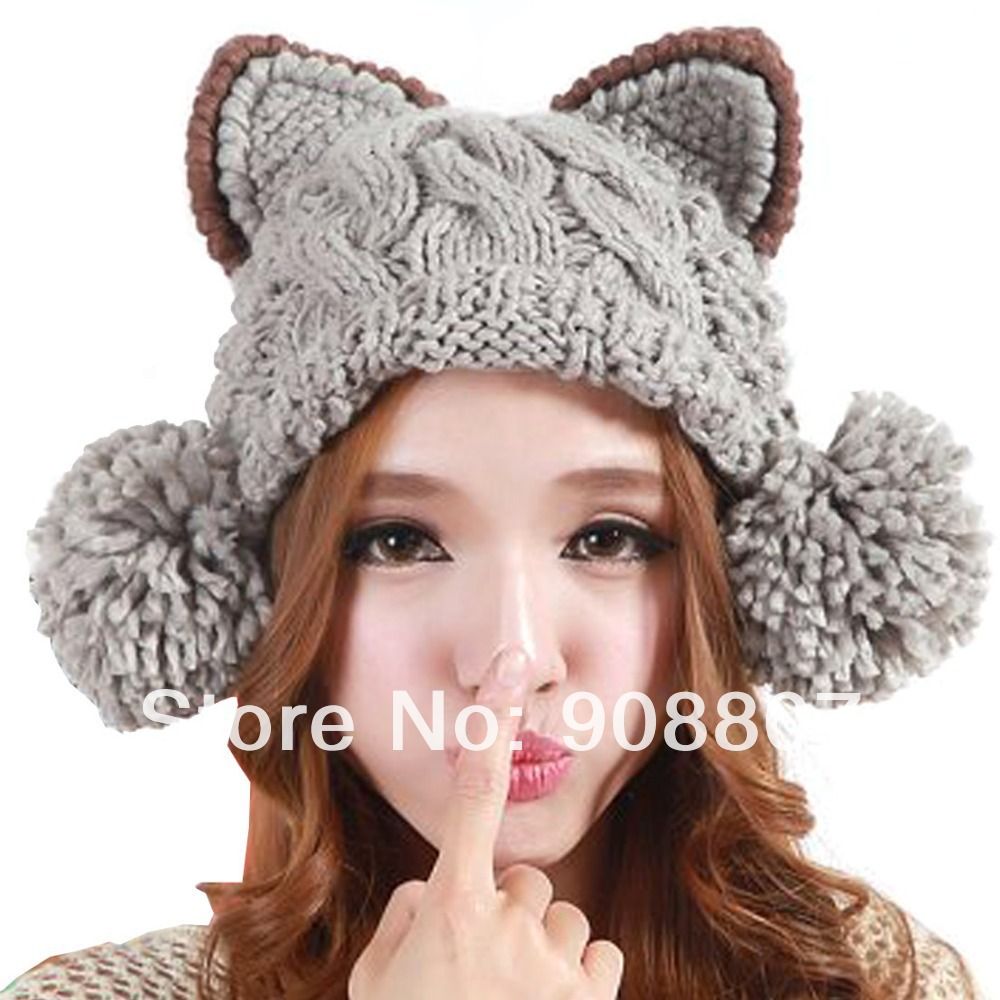 Free Knitting Pattern Ladies Hat : Aliexpress: Popular Crochet Cable Patterns in Womens ...