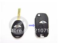 Free Shipping Mini Cooper R50/R53 2 Button Remote Flip Key Shell case