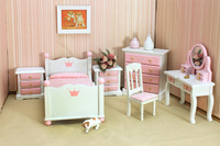 free shipping- Dollhouse doll house small child real model  1:12