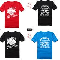 Мужская футболка 2014 new fashion 3Colors /023