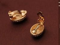 Free Shipping-- Mewox crystal stud earrings female fashion drop