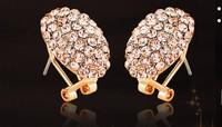 Free Shipping--  2014 Luxurious Crystal Earrings Jewelry ! Elegant Wedding earrings