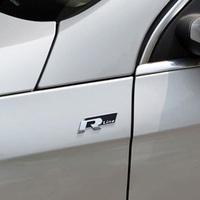 2 Colors 3D metal Rline Car Badge Emblem for volkswagen VW Beetle polo golf CC Touareg Tiguan Passat Scirocco sticker