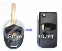 Flip Folding Key Shell for MITSUBISHI Lancer Outlander Colt Mirage Remote Case