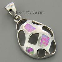 Angel Pink Fire Opal Silver Fashion Jewelry Women & Men Pendant OCP0047F Wholesale & Retail