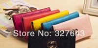 Korean Long Wallet fashion imprint Ladies Purse Ladies card packet size zero wallet