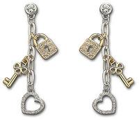 2014 Fashion Austria Crystal Earrings Modish Jewelry Accessories Wedding Married Long Bohemia Design Tassels Drop Ear-Ring Stud