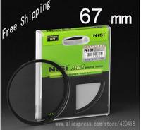 NiSi 67mm Ultra Slim UV Digital SLR Camera Lens Ultra Violet Filter 67mm Super Thin Protector