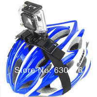 Free Shipping Gopro Cameras Vented Helmet Strap Mount Adapter For Gopro HD Hero 2 Hero 3  HERO3+ Gopro accessories
