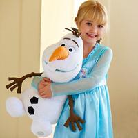 2014 Hot sale 38cm Plush Frozen Lovely OLAF toys the Snowman Plush Doll Stuffed Toy 38cm big size