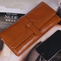 Wallets For Women 2013 Long Genuine Leather Women Wallet Fashion Plaid Wallet Women Clutch Purse Card Holder