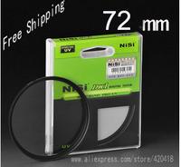 NiSi 72mm Ultra Slim UV Digital SLR Camera Lens Ultra Violet Filter 72mm Super Thin Protector