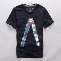 Spring and summer male dsl slim casual short-sleeve T-shirt 2