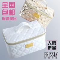 LZ bags Beatrice dimond women's plaid cosmetic bag large capacity portable cosmetics storage bag fashion Large 15*23*12cm