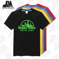 walter white meth labs shirt Shirt T-Shirt Breaking Bad 100% Official 5 colors S-6XL Glowed T Shirt