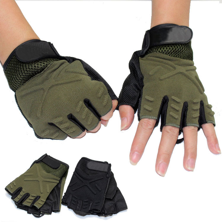 Quick Dry Bicycle Cycling Gloves Outdoor Sports Tactical Solider Train Camping Safety Glove(China (Mainland))