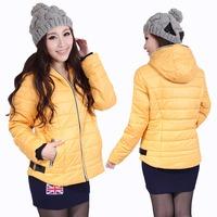 autumn and winter women's cotton-padded jacket slim short design women's wadded jacket down coat wadded jacket