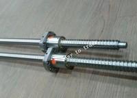 2 pcs anti backlash ballscrews ball screw 2005-800/1300mm + 4pcs 2005 ballnuts