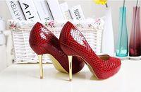 New arrival wine red sexy 11.5CM high heels women pumps big size EU 41