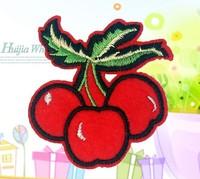 20 piece  cherry cartoon badges cloth factory direct patch back creative DIY tape