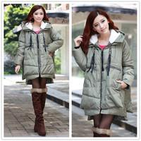 free shipping 9011 winter women's tooling down coat women  down coat
